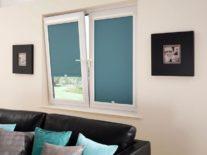 Рулонные шторы УНИ 2 на пластиковые окна - фото 1