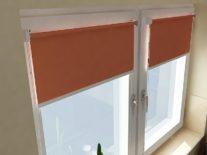 Рулонные шторы УНИ 2 на пластиковые окна - фото 5