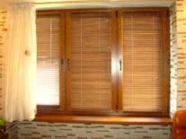 Деревянные жалюзи на окна - фото 4