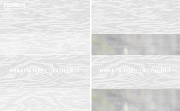 Wood Белый